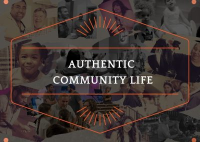 AUTHENTIC COMMUNITY LIFE